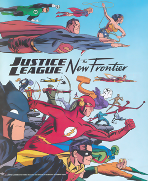 DVD Review: Justice League – The New Frontier