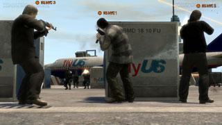GTA IV Multiplayer Screens