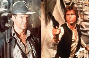 Indiana Jones and Han Solo