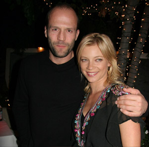 Jason Statham and Amy Smart