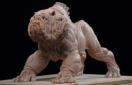 Hellboy Three Faced Dog