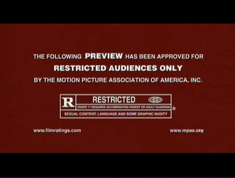 mature movie restricted logo