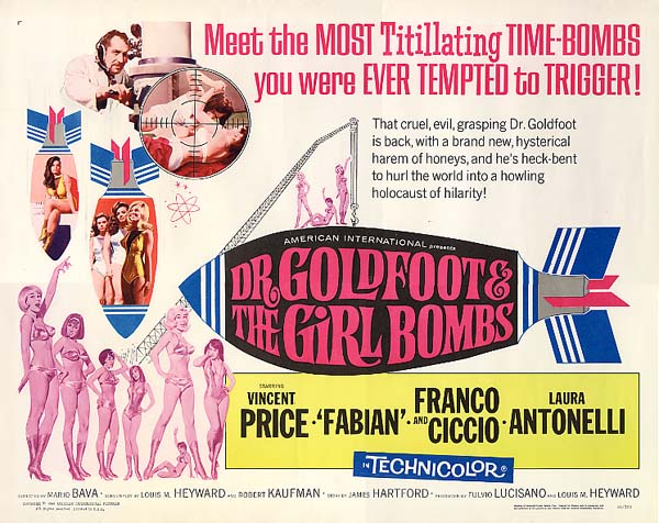 A Bunch of Bava: Dr. Goldfoot and the Girl Bombs