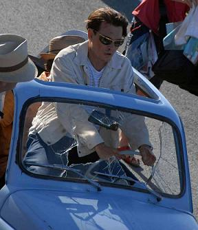 """Rum Diary"" Set Picture Released"