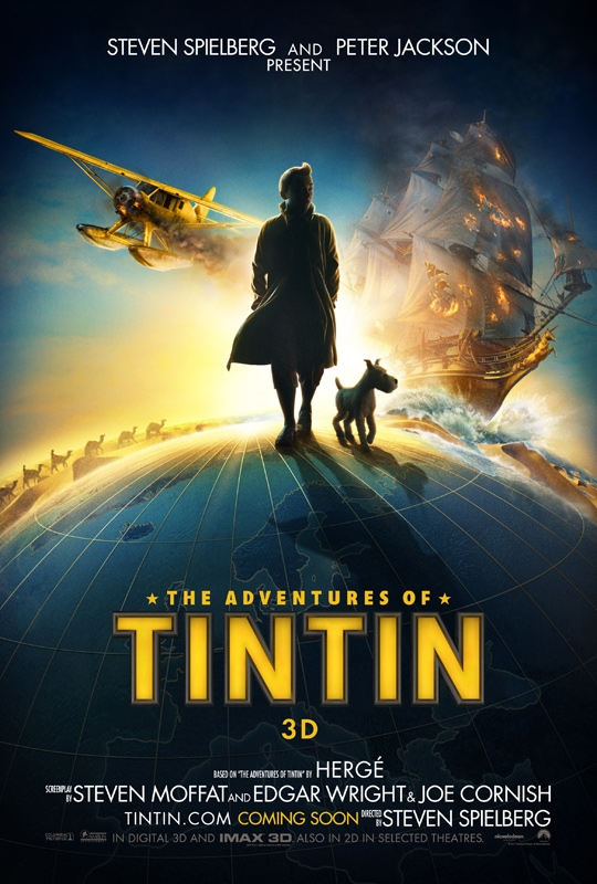 Tintin Posters & Teaser Released!